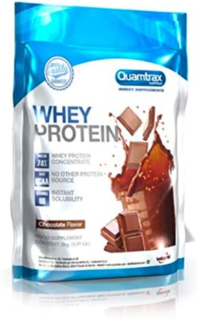 Quamtrax Direct Whey Protein, Chocolate - 2 Kg: Amazon.es ...
