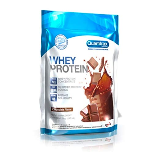 Quamtrax Direct Whey Protein - 2kg Strawberry
