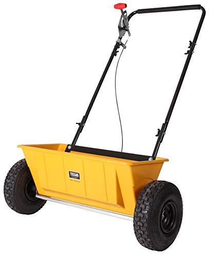 TEXAS Smart Spreader 200 Streuwagen   56 cm Arbeitsbreite   25 Liter Fassungsvermögen   Geeignet für Samen, Dünger und Salz