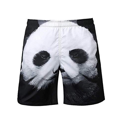 Trajes De Baño Playa para hombre Hombres cortos 3D Impreso en 3D Seco Summer Boards Boardshorts Pantalones cortos Troncos de natación Pantalones cortos Trajes de baño (color: A3, Tamaño: s)