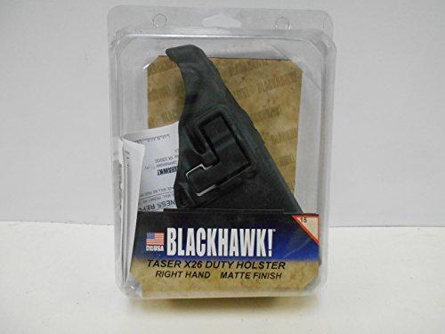 Blackhawk Taser X-26 Duty Holster, RH, Matte Black
