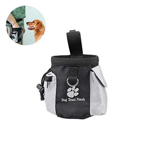 WEKON Dog Treat Tas, Hands Gratis Hond Training Tas met Ingebouwde Poop Bag Dispenser, Draag gemakkelijk Huisdier Speelgoed, Kibble, Behandelingen voor Reizen of Outdoor Gebruik