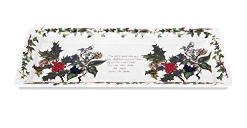 Portmeirion Home & Gifts HV52850-X Sandwich-Tablett, Keramik, mehrfarbig, 14 x 30,5 x 2,1 cm