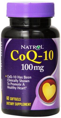 Natrol CoQ-10 100mg Softgels, 60 Count