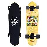 Skateboard Completo para Adultos y Niños Mini Cruiser Pumping Skate Board...