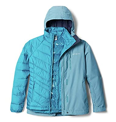 Columbia Women's Whirlibird IV Interchange Jacket, Canyon Blue Cross Dye, Large