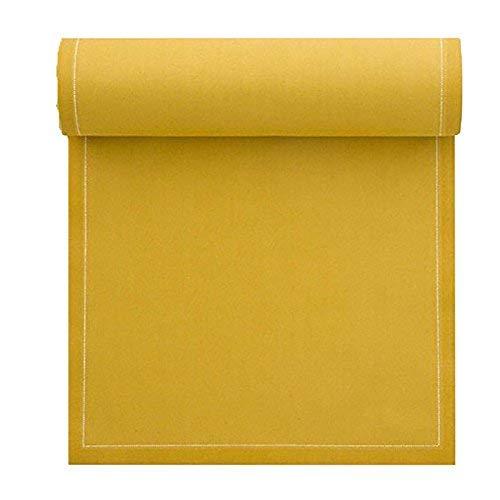 MYdrap servilletas en un Rollo. 100% algodón 20 x 20cm con 25servilletas por Rollo, algodón, Curry, 8.0