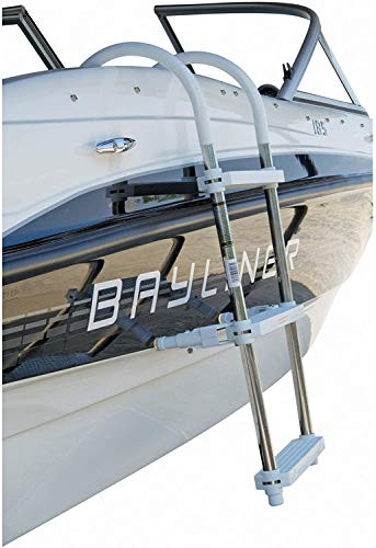 DotLine 3 Step Gunwale Hook Aluminum Ladder