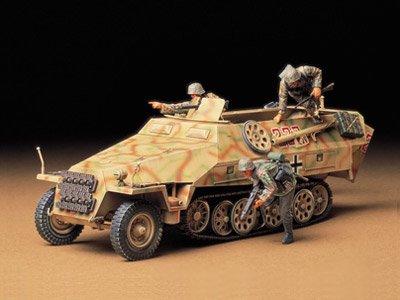 タミヤ 1/35 ミリタリーミニチュアシリーズ No.195 ドイツ陸軍 ハノマーク装甲兵員輸送車 D型 シュッツェン...