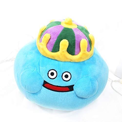 Plüsch-Spielzeug 20cm Neues Spiel Dragon Quest Lächeln Slime Plüschtiere Cartoon Anime Plüsch Spielzeug Baby-Kind-Geburtstags-Geschenk-Hauptdekor