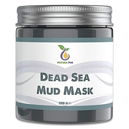 Natura Pur Totes Meer Schlamm Gesichtsmaske 250g, vegan - Anti...