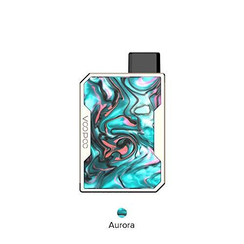 VOOPOO Drag Nano Pod System Kit, E Zigarette Starterset Elektronische Zigarette Akku 750mAh Verdampfer 1ml Verdampferköpfe 1.8ohm mit LED-Anzeige-Ohne Nikotin Ohne Tabak (Aurora)