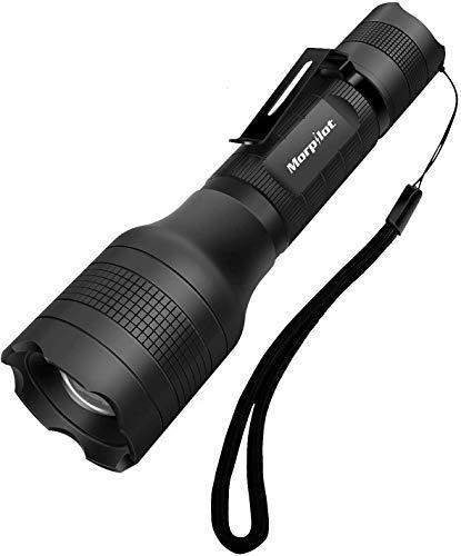 Linterna recargable Morpilot 2 EN 1 UV y LED Linterna Táctica con...