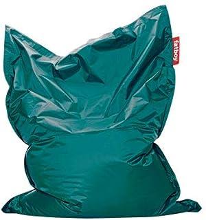 Fatboy® The Original Pouf Poire Bean Bag/Coussin/Fauteuil/canapé d'intérieur XXL | Turquoise | 180 x 140 cm