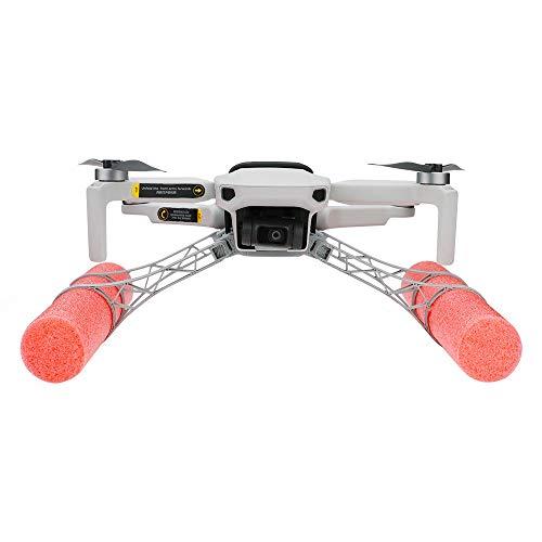 Luccase Fahrwerks Verlängerung Floating Kit 20,5 x 23 x 6,8 cm PLA Drohnen Schwimmkit Kompatibel mit DJI Mavic Mini RC Drohnenlandung Wasser, Rot und Grau