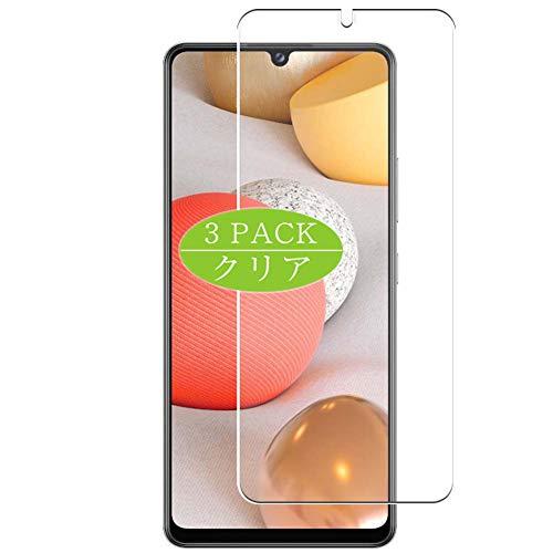 VacFun 3 Piezas HD Claro Protector de Pantalla Compatible con Samsung Galaxy A42 5G, Screen Protector Película Protectora(Not Cristal Templado)