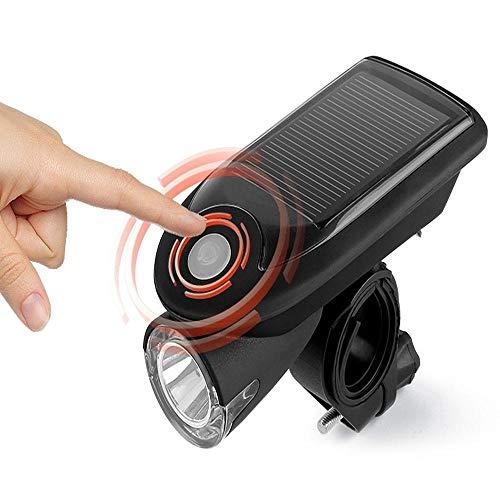mächtig der welt Standard-Fahrradleuchten, wiederaufladbare USB-Solar-Fahrradleuchten,…