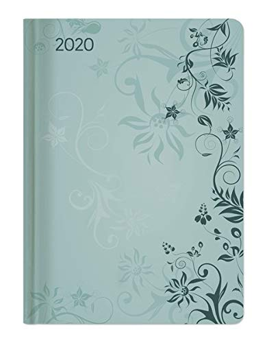 Agenda Settimanale 2020 Ladytimer 'Turchese Flowers' 10.7x15.2 cm