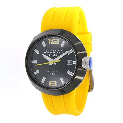 Locman Italy Herrenuhr Change schwarz/gelb Ref. 0422