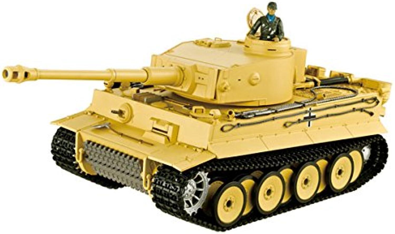 Char ir 2.4ghz 1 16 tiger 1 first ver. (bruit fumee)