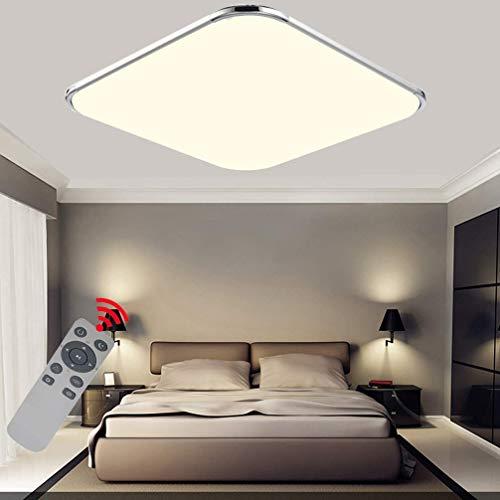 Preisvergleich Produktbild BFYLIN LED Deckenleuchten, 48W Dimmbar Mit FB Ultra dünn Deckenlampe Flur Schlafzimmer Wohnzimmer Lampe Energiespar Lich