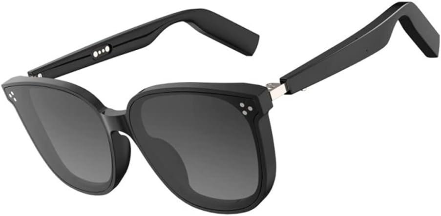 Smart Audio Glasses Open Ear Wireless Bluetooth 5.0 Sunglasses IP67 Waterproof Wireless Headset, Listen to Music and Hand-Free Calling, UV400 Anti Blue Ray