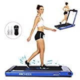 Best Folding Treadmills - ANCHEER Under Desk Folding Treadmill,2 in1 Electric Exercise Review