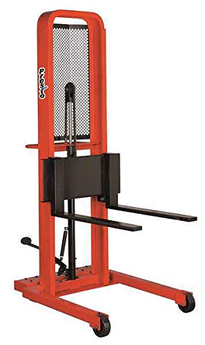 Stacker, 1000 lb, 50 In Lift, 66 In H