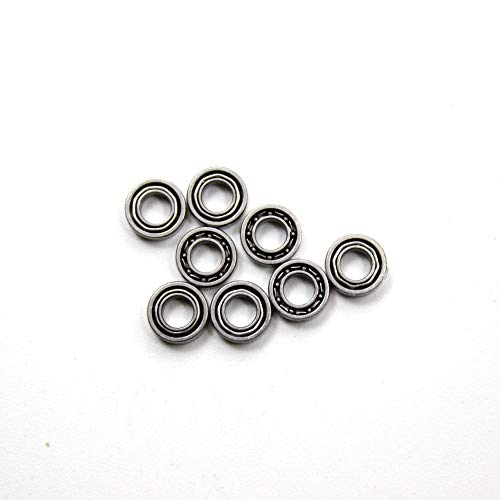 HUANRUOBAIHUO 8pcs Upgrade Bearing for MJX x101 RC Quadcopter Remote Control Drone Spare Parts Quadcopters Accessories