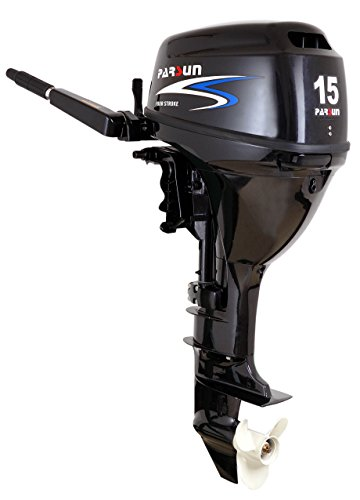 Prowake Außenborder Parsun F15 BMS: 15 PS Kurzschaft Bootsmotor, Außenbordmotor, Flautenschieber