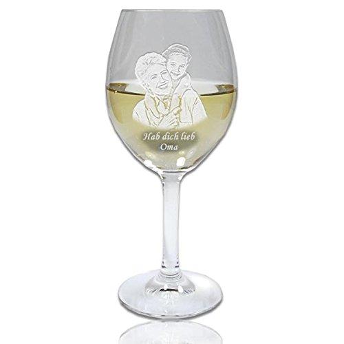 SPIEGELAU Weißweinglas mit Fotogravur