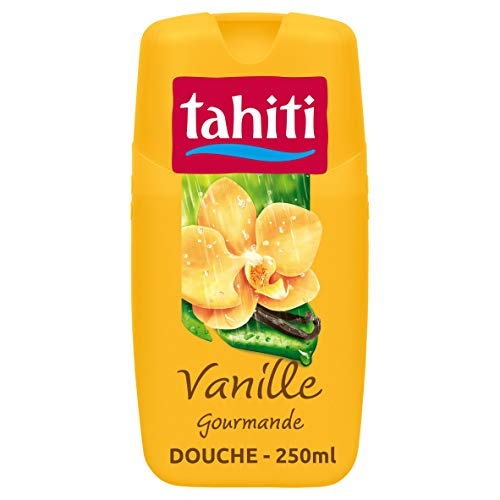 TAHITI - Gel douche Tahiti Vanille Gourmande - pH Neutre - Enrichi d'agent hydratant - Flacon de 250 ml