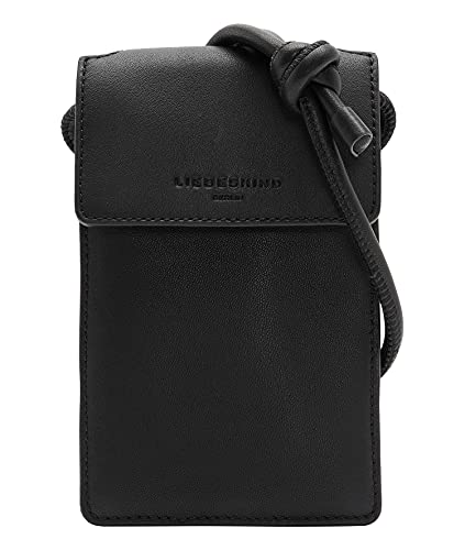 Liebeskind Berlin CHELSEA Kodiaq Mobile Pouch, black, Onesize (HxBxT 18.5cm x11.6cm x3.0cm)