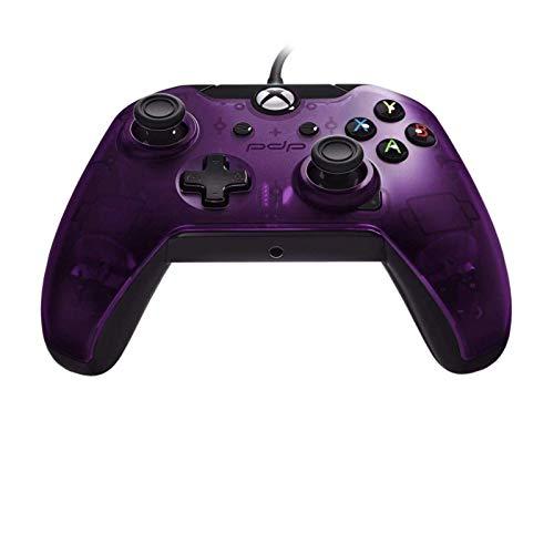 PDP - Mando Con Cable Licenciado (Xbox One), Morado (Royal Purple)