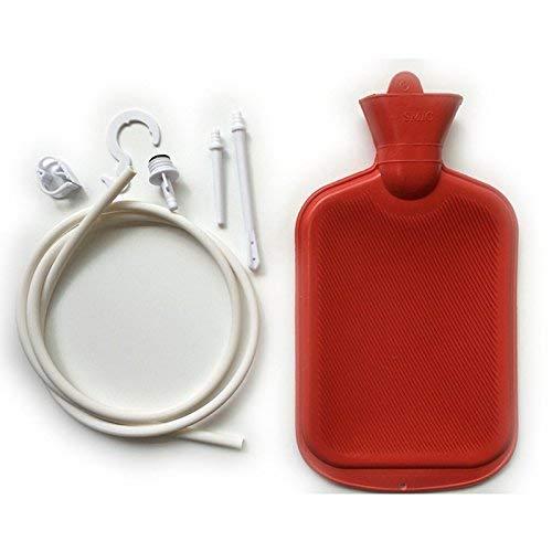 Funwill Reinigungsset für Einlauf Set Zur Darmreinigung, Klistier Set, Gummi, 2000 ml