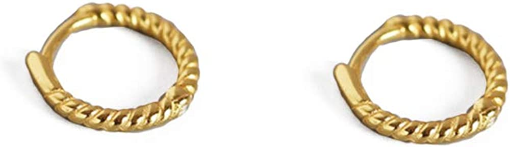 Huggie Small Hoop Earrings for Girls Challenge the lowest price of Japan ☆ Women Silver Sterling High order Minim
