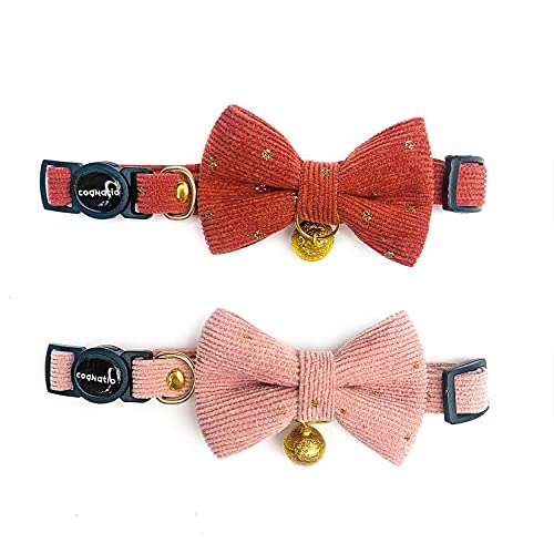 Cognatio Safety Quick Release Cat Collars, Soft Kitten Collars with...