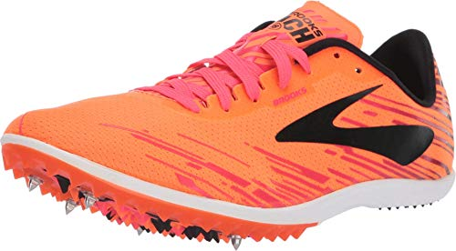 Brooks Herren Mach 18 Cross-Trainer, Mehrfarbig (Orange/Pink/Black 861), 40.5 EU