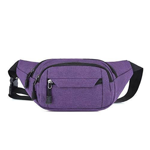 BJHSYNDR Bolsa de 33 x 4 x 15 cm para hombre, bolsa de cintura para mujer, simple ocio, moda Oxford, bolsas de cintura para mujer
