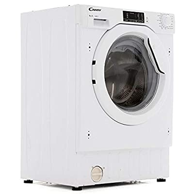 Candy CBWM816D-80 8kg 1600rpm Spin Integrated Washing Machine - White