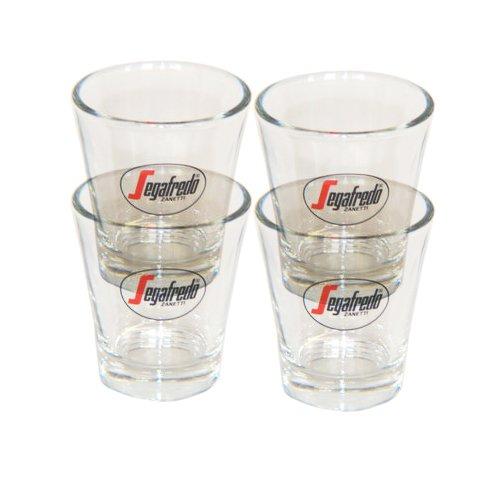 Segafredo Espresso Gläser, Sparset 4 Stück