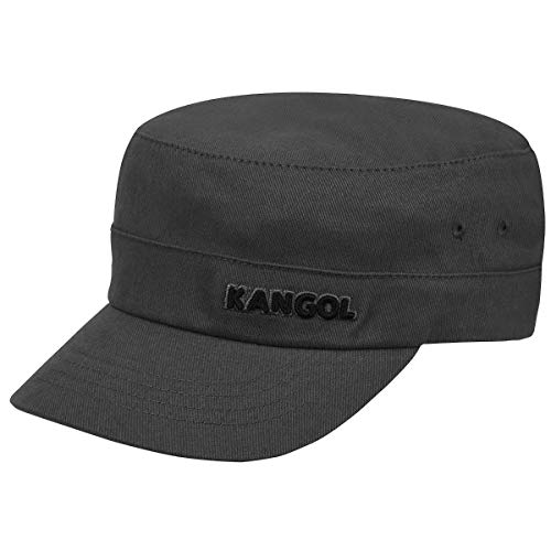 Kangol - Cotton Twill Army cap - Chapeau - homme - gris - Taille Small