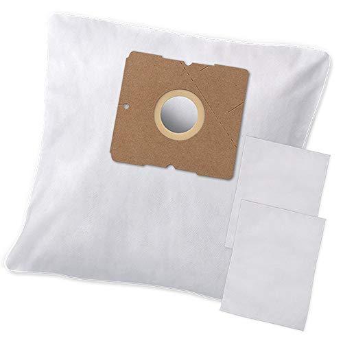 10 Hochwertige Staubsaugerbeutel + Filter - Für DeLonghi Darel QZ 12 B passend - Bestleistung beim Saugen