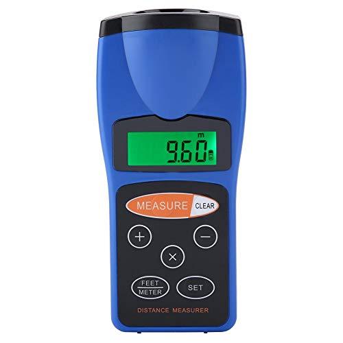 Medidor de distancia ultrasónico CP-3008, medidor de distancia de telémetro portátil con pantalla LED, medidor de distancia digital, antiinterferencias fuertes, para medir distancia,