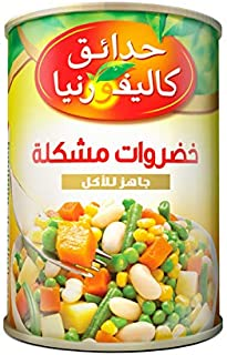 California Garden Canned Ready to Eat Mixed Vegetables 425g