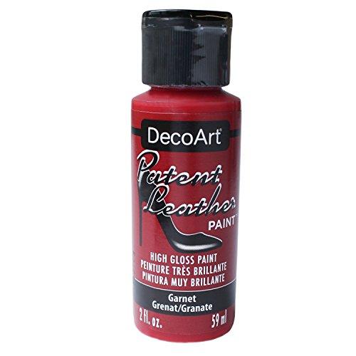 Deco Art Americana–Jarra de Charol de Pintura, acrílico, Granate, 3,5x 3,5x 10cm