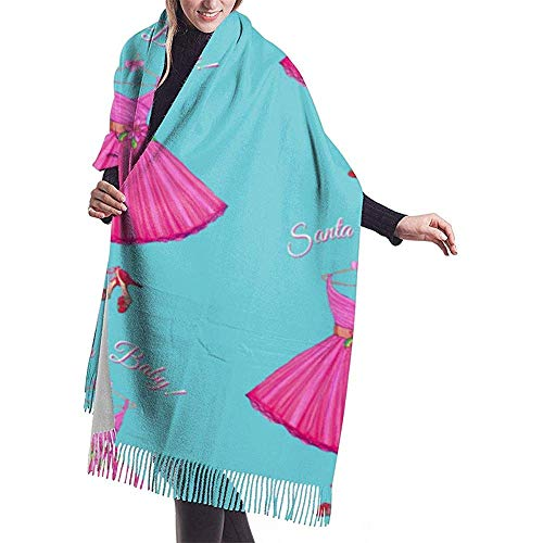 Cathycathy jaren 50 jurk kerstster vakantie jurk patroon vintage jurk prom sjaal wrap winter warme sjaal cape