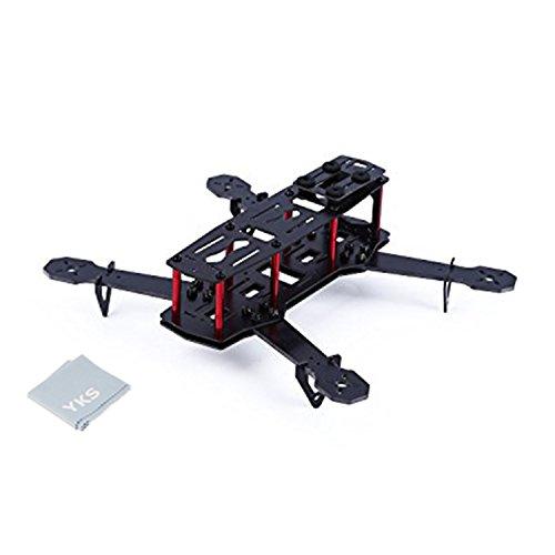 YKS DIY Glass Fiber Mini 250 Quadcopter Frame Kit for FPV Multirotor Part