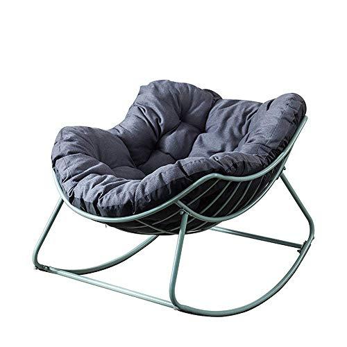 YINGGEXU Silla mecedora cómoda para relajarse, reclinable, para el hogar o la oficina, silla de relax (color: verde, tamaño: 110 x 79 cm)