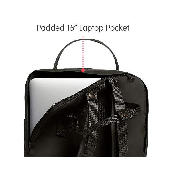 "413qWiUk7BL. SS600  - Fjallraven Kånken Laptop 15"" - Backpack Unisex adulto"